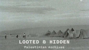 image du film Looted and Hidden - Palestinian Archives in Israë